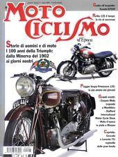 2002-07 Motociclismo d'Epoca PIAGGIO VESPA PRIMAVERA 125  100 ANNI DELLA TRIUMPH