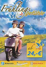 Preisliste mit Finanzierungsangeboten Piaggio Vespa Gilera 1.3.05 2005 Roller