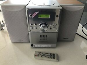 SHARP XL-S10 AM-FM Radio-CD-Cassette Micro Stereo Music System.Great