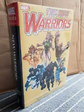 NEW WARRIORS OMNIBUS – RARE DM VARIANT COVER – NEW, SEALED