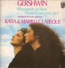 Gershwin-Vinilo Lp-Rapsodia en Azul-Philips - 9500 917-41-1980-en muy buena condición+/casi como nuevo