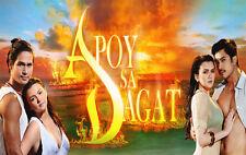 Apoy sa Dagat Complete Set Filipino TV Series DVD teleserye