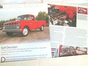 g  1965 Ford  F-100, F-250  Pickup Truck, 3 pages Info