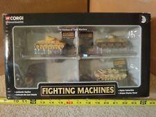 Corgi Showcase Collection, diecast military, army battle tank lot.