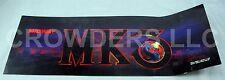 """Mortal Kombat 3 """"Midway MK3"""" Arcade Marquee 26"""" x 9-1/2"""" Video Game Header '95"""