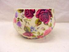 Diseño de rosa de verano azucarera abierta por Heron Cross Pottery
