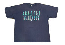 VTG 90's Seattle Mariners Men's Starter Double Sided T Shirt Size 2XL Made USA