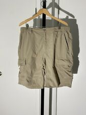 THE NORTH FACE Mens Khaki Hiking Cargo Shorts Size L