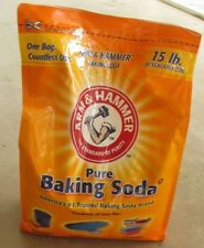 15 lb Bag Arm & Hammer Pure Baking Soda Odor Reducer Pool laundry cleaner 13.5