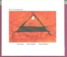Prowl  by Erik Friedlander  (CD)