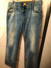 BOSS Orange Men's Jeans Distressed, Slim Fit  36x32 NWOT