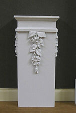 PAIR  OF BASES  FOR TALL  IONIC  WALL COLUMN  ~ 1:12 scale ~ Dollhouse~ Room Box