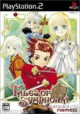 Used PS2 Namco Tales of Symphonia SONY PLAYSTATION JAPAN IMPORT
