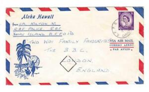 Great Britain-MILITARY-B.F.P.O. 9/OC/58-CHRISTMAS ISLAND-RAF POLICE
