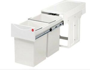 HAILO 3666-00 Abfallsorter 30 (2x15) Liter TANDEM