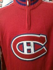 Montreal Canadiens quarter zippered sweater by Ilanco. 2XL NHL