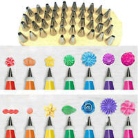 48Pc Useful Tulip Flower Cake Icing Piping Nozzles Decorating Tips Baking Tools