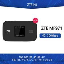 ZTE MF971V Cat6 WiFi Hotspot Router 4G LTE Bands 1/2/3/4/5/7/8/17/12/20/28/38/40