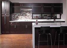 10' x 10' Espresso Maple Kitchen Cabinets