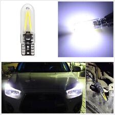 10Pc T10 168 W5W COB LED Car Width Lights License Plate Light Side Marker Light