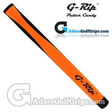 G-RIP mp-1 medie PISTOLA Putter Grip-Arancione/Nero + GRATIS NASTRO