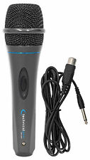 "Technical Pro MK75 Karaoke DJ Wired Microphone Mic w/ 10 ft. XLR to 1/4"" Ca"