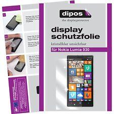 1x dipos Nokia Lumia 930 klare Displayschutzfolie Crystalclear unsichtbar