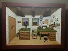 Wandbild 3D Holz