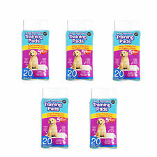 Puppy Pads Super Absorbent Premium Large 60x45cm Packs of 20 60 100 or 200 200
