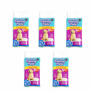 Puppy Pads Super Absorbent Premium Large 60x45cm packs of 20,60,100 or 200