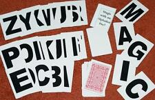 Alphabet Letter Deck of cards -- indispensable magic utiltity item!     TMGS