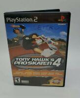 Tony Hawk's Pro Skater 4 with manual (Sony PlayStation 2, 2002) - CIB - Ps2
