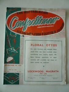 Australasian Confectioner, Ice Cream & Soda Fountain Journal 1941