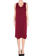 abito vestito tunica donna rosso floreale taglia m medium