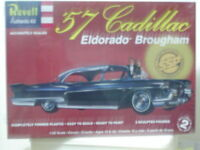 Revell #1244 SSP 1957 Cadillac Eldorado Brougham 1/25 model kit new in the box