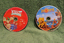 LOT of 2 DVDs: DINOTOPIA Quest for Ruby Sunstone MOVIE & The CHRISTMAS DINOSAUR