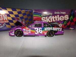 1/24 ERNIE IRVAN #36 SKITTLES WILD BERRY  1998  ACTION NASCAR DIECAST