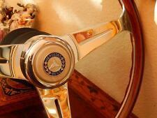 Mercedes 560 SL 1986 - 89 Wood Steering Wheel Hub Boss Horn Button assembly New