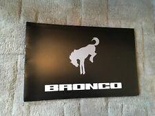 FORD   BRONCO. CONCEPT BROCHURE 2004.     USA MARKET    RARE ITEM