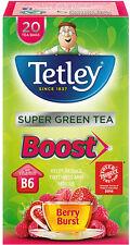 Tetley Boost Super Green Tea Berry Burst Tea Bags (20)