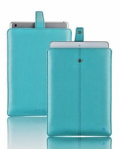 """iPad Air 2, 3 Case   iPad Pro 9.7"""" Case Blue NueVue Sanitizing Screen Cleaning"""