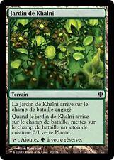 *MRM* FR 4x Jardin de Khalni (Khalni Garden) MTG Com 2013