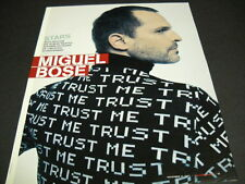 MIGUEL BOSE with words on his back 2007 PROMO DISPLAY AD mint condition