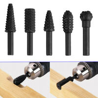 5Pcs 1/4'' Drill Bit Set For Woodworking Knife Wood Carving Tool Cutting Tools