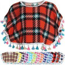 Mädchen-Pullover & -Strickware aus Baumwollmischung mit Poncho
