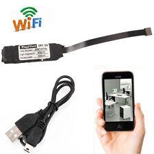 Wireless Wifi Spy Hidden IP Camera P2P Mini Pinhole DIY Module Digital Video DVR