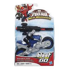Marvel Ultimate Spider-Man Motor Cycle Blast N Go Action Figure New & Sealed