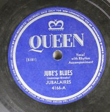 Hear! R&B 78 Jubalaires - Jube'S Blues / I'Ve Waited All My Life For You On Quee