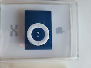 NEW Apple A1204 iPod Shuffle 1GB BLUE 2nd Generation MB813LL/A - Factory Sealed