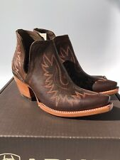 ARIAT Women's Dixon Western Boot Weathered Brown (Size 7)